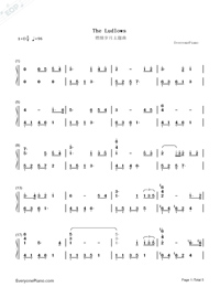 The Ludlows-Numbered-Musical-Notation-Preview-1