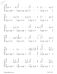 The Ludlows Numbered Musical Notation Preview 2