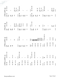The Ludlows Numbered Musical Notation Preview 3