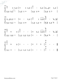 The Ludlows-Numbered-Musical-Notation-Preview-5