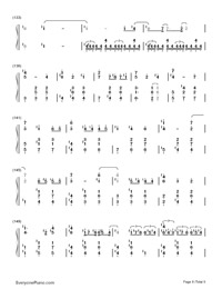 Carousel-Howl's Moving Castle Theme-Numbered-Musical-Notation-Preview-8