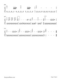 Stroll-Sanpo-My Neighbor Totoro OP Numbered Musical Notation Preview 4