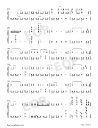 Days on the Beijing East Road-Numbered-Musical-Notation-Preview-2