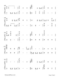 Summer of Farewells-Numbered-Musical-Notation-Preview-3