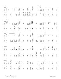 Summer of Farewells-Numbered-Musical-Notation-Preview-5