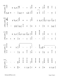 Summer of Farewells-Numbered-Musical-Notation-Preview-6