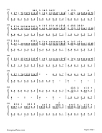 Variations on Pachelbel's Canon-Numbered-Musical-Notation-Preview-3