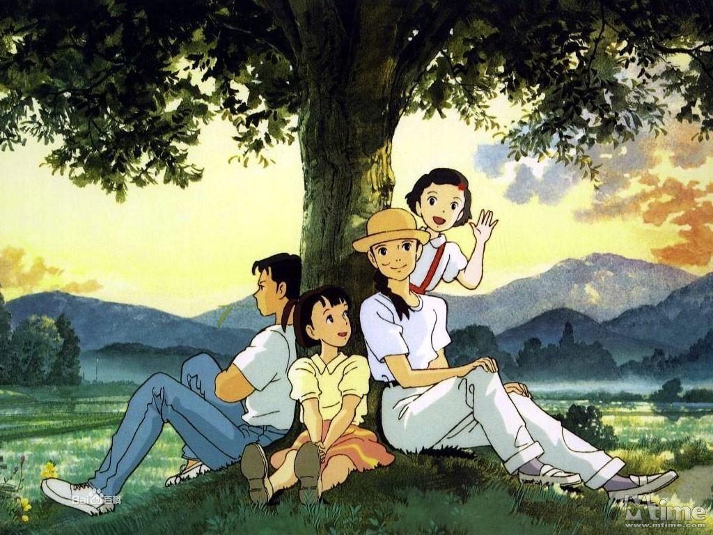 愛是花你是種子-The Rose-歲月的童話-宮崎駿動畫