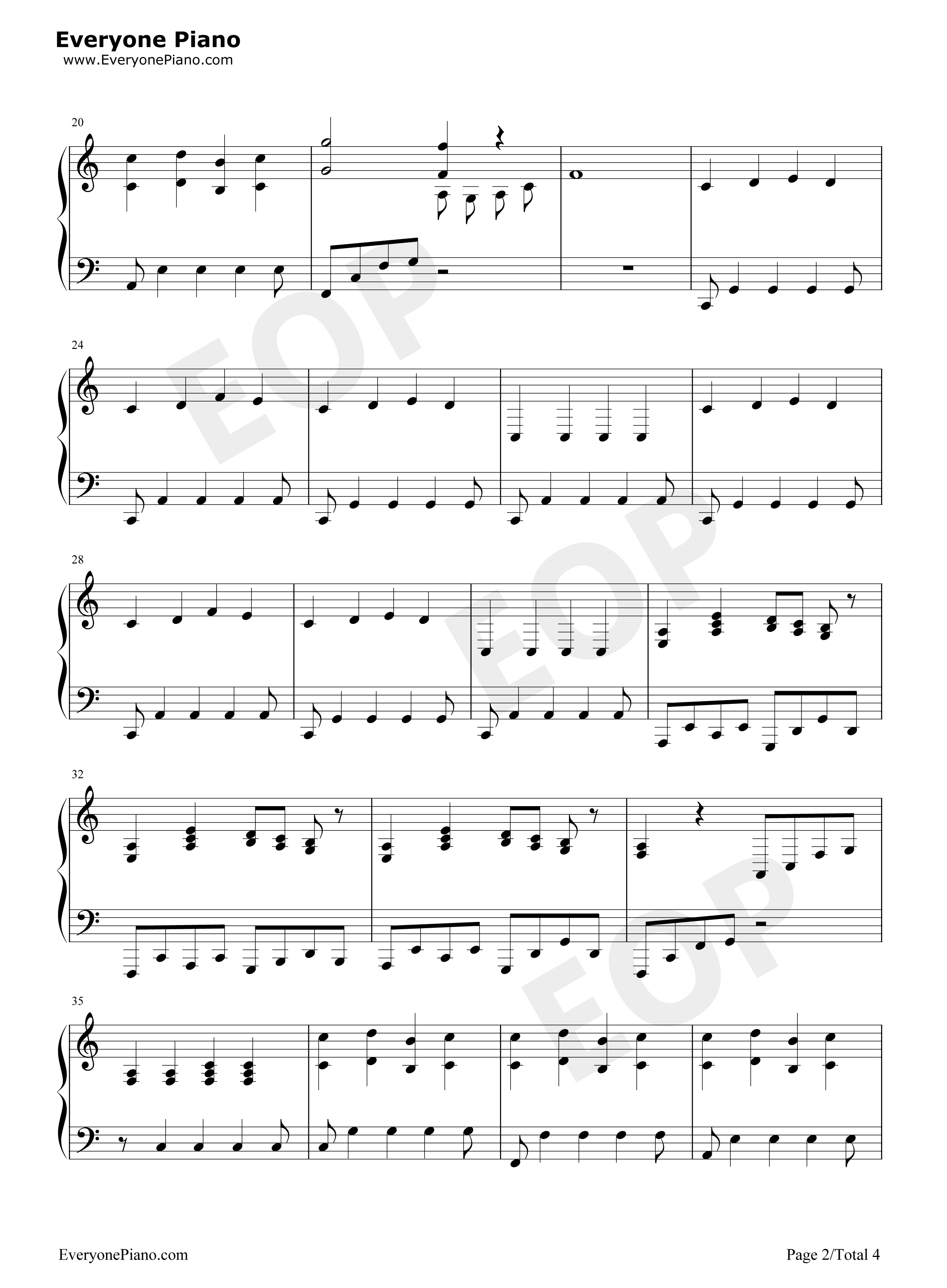 Falling slowly once ost stave preview 2 free piano sheet music listen now print sheet falling slowly once ost stave preview 2 hexwebz Gallery