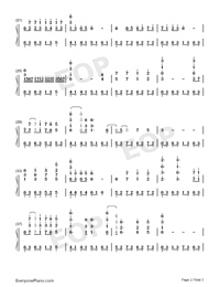 The Episode of Clannad-Numbered-Musical-Notation-Preview-2