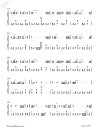 Practice Love Numbered Musical Notation Preview 2