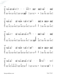 Practice Love Numbered Musical Notation Preview 3