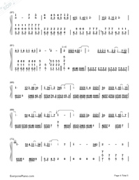 Practice Love Numbered Musical Notation Preview 4