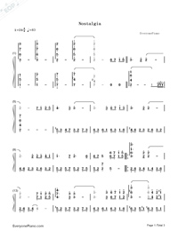 Nostalgia-Numbered-Musical-Notation-Preview-1