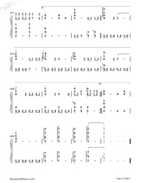 Nostalgia-Numbered-Musical-Notation-Preview-3