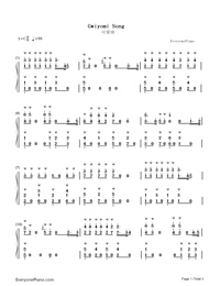 Gwiyomi Song-Numbered-Musical-Notation-Preview-1