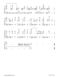 Devil May Cry-Numbered-Musical-Notation-Preview-2