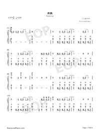 Running-Numbered-Musical-Notation-Preview-1