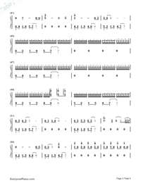 The Sixth Station Numbered Musical Notation Preview 3