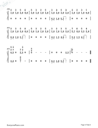 The Sixth Station-Numbered-Musical-Notation-Preview-4