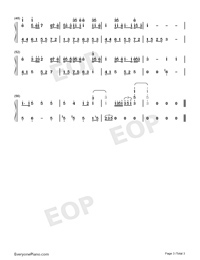 You Exist in My Song-Simplified Version-Numbered-Musical-Notation-Preview-3