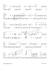 From the Beginning Until Now-Numbered-Musical-Notation-Preview-2