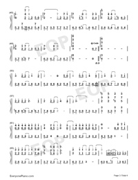 From the Beginning Until Now-Numbered-Musical-Notation-Preview-3