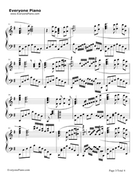 鉄血丹心完全版五線譜プレビュー3