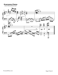 鉄血丹心完全版五線譜プレビュー4