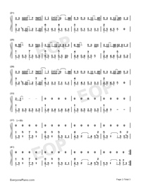 Iron Box of an Island-Numbered-Musical-Notation-Preview-2