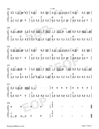Iron Box of an Island-Numbered-Musical-Notation-Preview-3