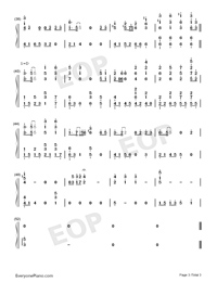 Spring Flowers Blossoming-Numbered-Musical-Notation-Preview-3