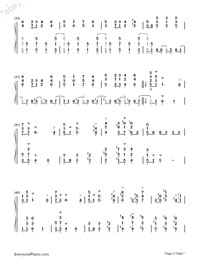 June Barcarolle Numbered Musical Notation Preview 3