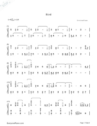 anime piano sheet music