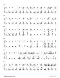 Roku Chōnen to Ichiya Monogatari-Sound Voltex OST Free Piano