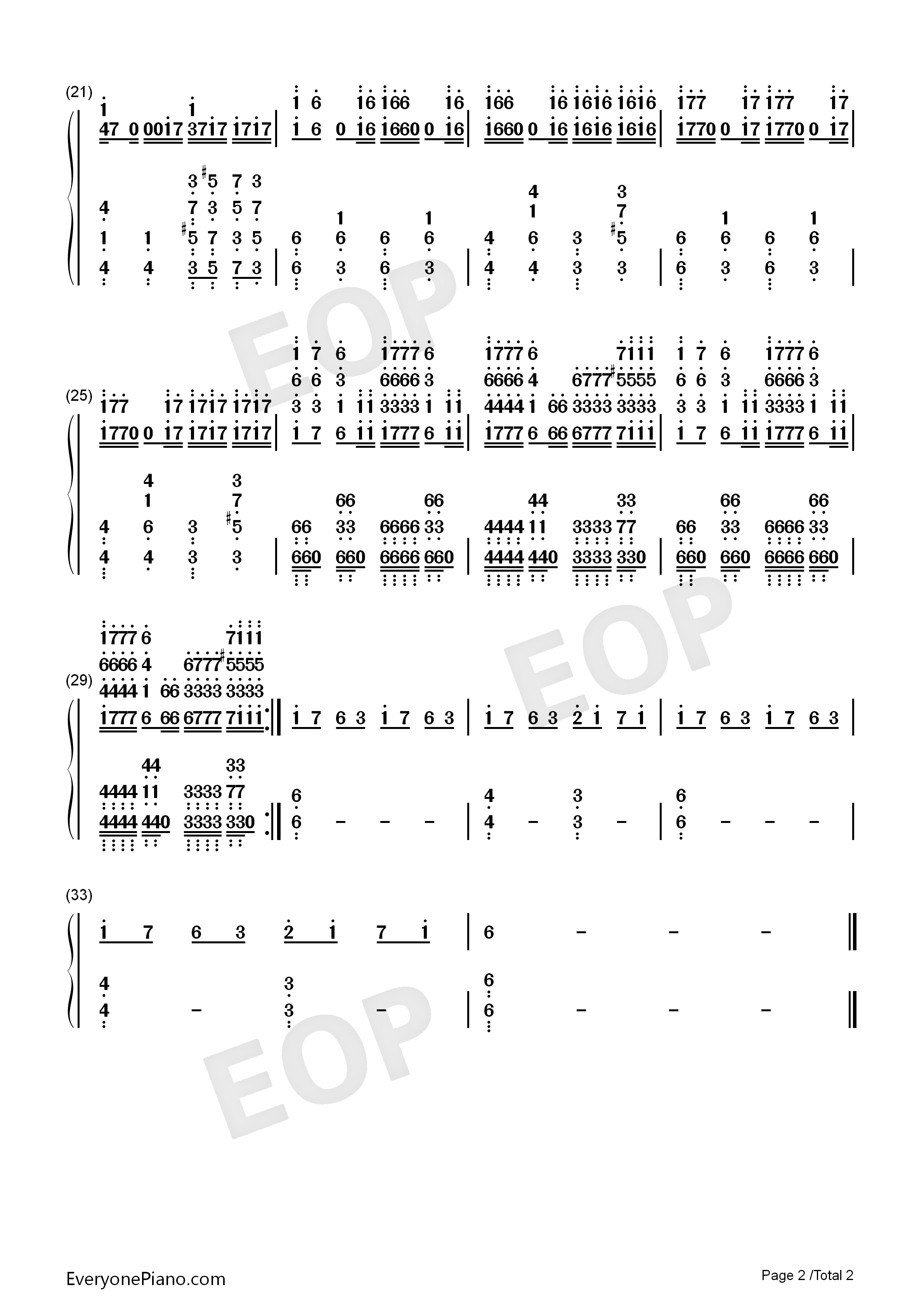 Requiem for a dream numbered musical notation preview 2 free listen now print sheet requiem for a dream numbered musical notation preview 2 hexwebz Image collections