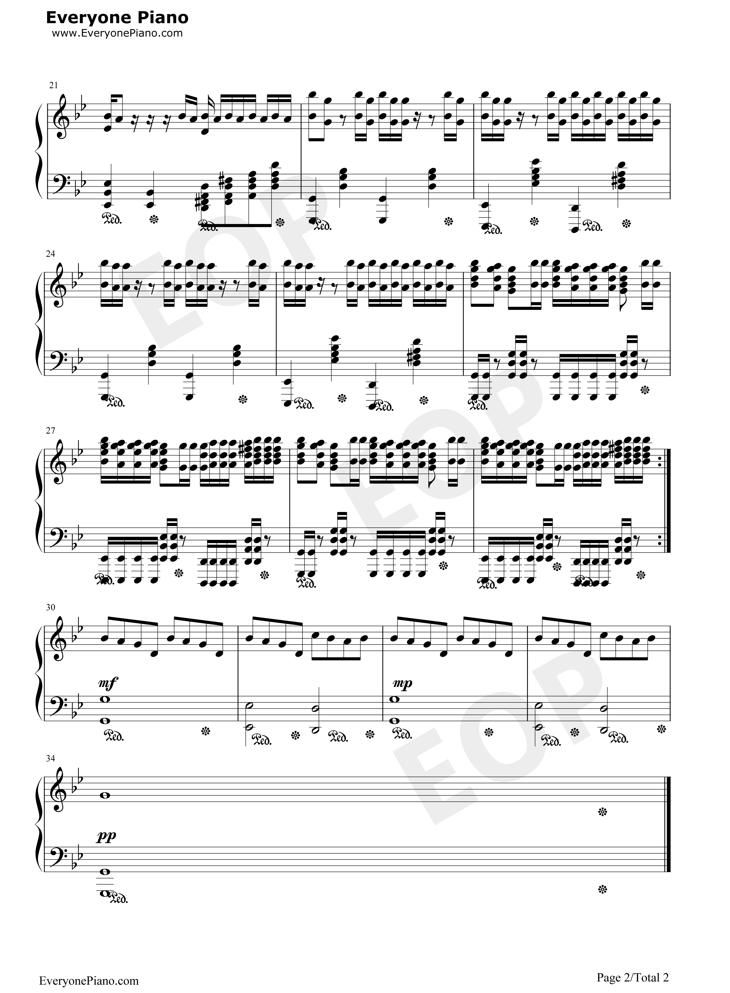 Requiem for a dream stave preview 2 free piano sheet music listen now print sheet requiem for a dream stave preview 2 hexwebz Image collections