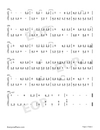 Warm-Encounter-Fairy Tale-Numbered-Musical-Notation-Preview-2