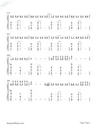 Bella's Lullaby両手略譜プレビュー2