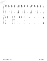 Bella's Lullaby両手略譜プレビュー3