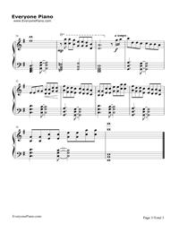 Bella's Lullaby五線譜プレビュー3