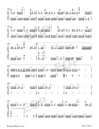Zhiwang-The Fierce Wife Numbered Musical Notation Preview 2