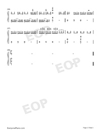 Zhiwang-The Fierce Wife Numbered Musical Notation Preview 3