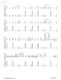 Ballade-ENCORE-Numbered-Musical-Notation-Preview-4