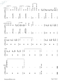 Ballade-ENCORE-Numbered-Musical-Notation-Preview-8