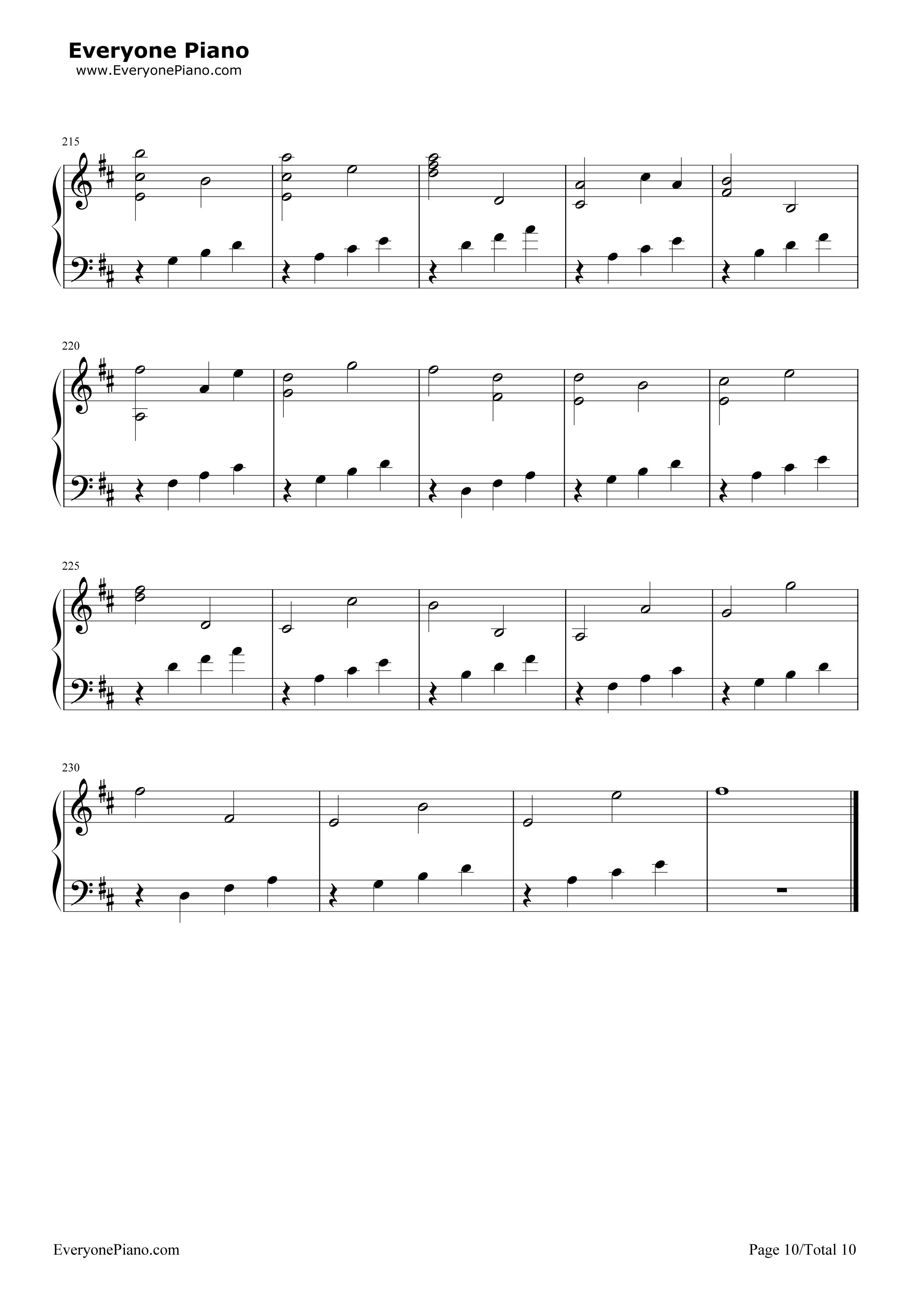 pachelbel canon in d piano sheet music original pdf