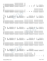 We Are Young-Numbered-Musical-Notation-Preview-4