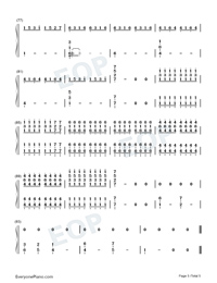 We Are Young-Numbered-Musical-Notation-Preview-5