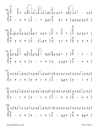 Baby Don't Cry-EXO-Numbered-Musical-Notation-Preview-5