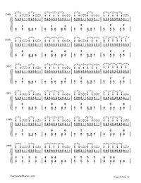 Hatsune Miku no Shoushitsu Numbered Musical Notation Preview 8